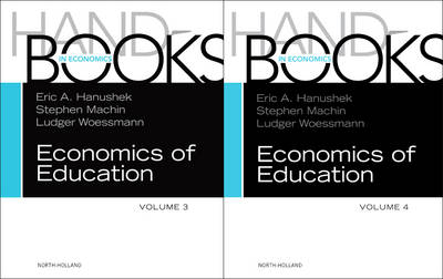 Handbook of the Economics of Education Set - Handbooks in Economics (Hardback)
