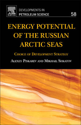 Energy Potential of the Russian Arctic Seas: Choice of Development Strategy - Developments in Petroleum Science 58 (Hardback)