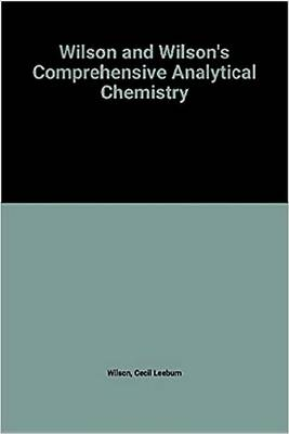 Comprehensive Analytical Chemistry: Ion Exchangers in Analytical Chemistry - Their Properties and Use in Inorganic Chemistry v.14 - Comprehensive Analytical Chemistry (Hardback)
