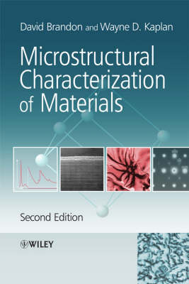 Microstructural Characterization of Materials (Paperback)