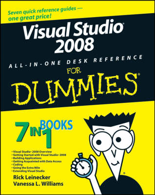 Visual Studio 2008 All-in-one Desk Reference For Dummies (Paperback)