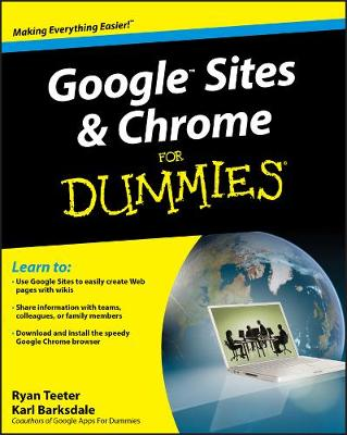 Google Sites and Chrome For Dummies (Paperback)