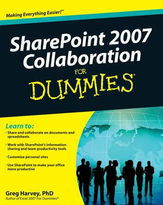 SharePoint 2007 Collaboration For Dummies (Paperback)