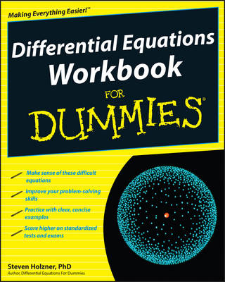 Differential Equations Workbook For Dummies (Paperback)