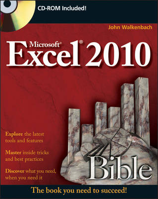 Excel 2010 Bible - Bible (Paperback)