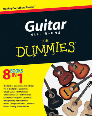 Guitar All-in-One For Dummies (Paperback)