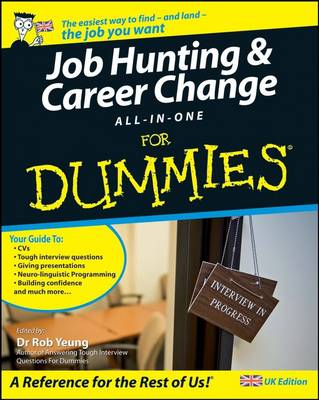 Job-Hunting and Career Change All-in-One For Dummies (Paperback)