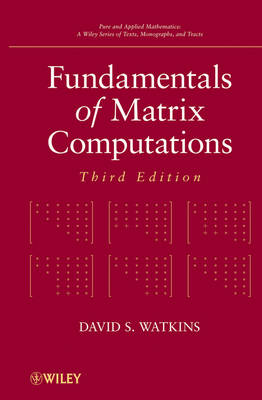 Fundamentals of Matrix Computations - Pure and Applied Mathematics: A Wiley Series of Texts, Monographs and Tracts (Hardback)