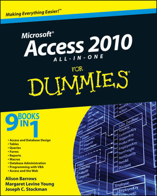 Access 2010 All-in-One For Dummies (Paperback)