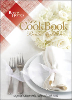 Better Homes and Gardens New Cook Book Bridal - Better Homes & Gardens Plaid (Hardback)