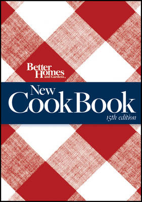 Better Homes and Gardens New Cook Book - Better Homes & Gardens Plaid (Paperback)