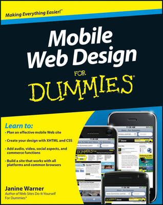 Mobile Web Design For Dummies (Paperback)