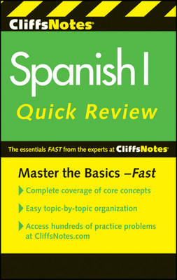 CliffsNotes Spanish I QuickReview (Paperback)