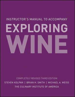 Exploring Wine: Instructor's Manual (Paperback)