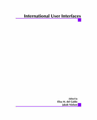 International User Interfaces (Paperback)