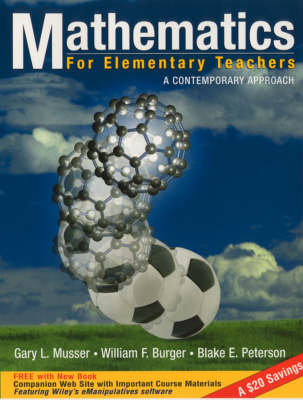 Mathematics for Elementary Teachers 6e with Studen t Resource Handbook Set (Hardback)