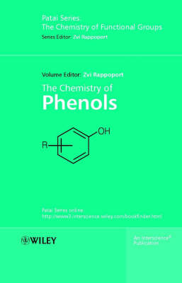Cover The Chemistry of Phenols - Patai's Chemistry of Functional Groups