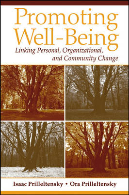 Promoting Well-being: Linking Personal, Organizational, and Community Change (Paperback)