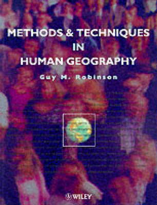 Techniques and Methods in Human Geography (Paperback)
