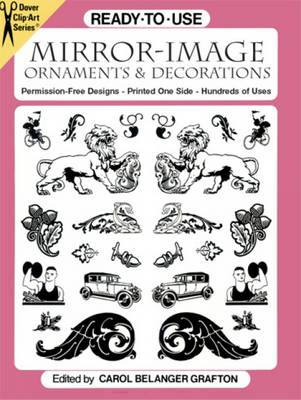 Ready to Use Mirror Image Ornaments and Decorations - Clip-Art (Paperback)