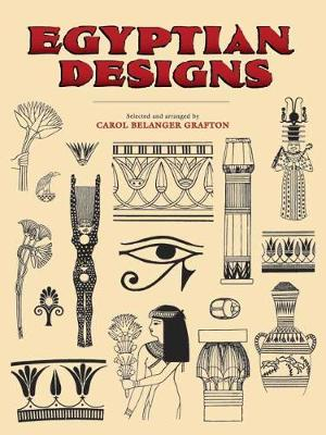 Egyptian Designs - Dover Pictorial Archives (Paperback)