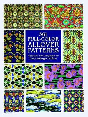 361 Full Colour Allover Patterns - Dover Pictorial Archive (Paperback)