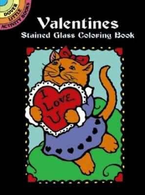 Valentines Stained Glass Coloring Book - Dover Stained Glass Coloring Book (Paperback)