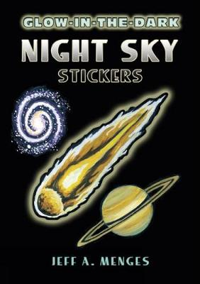 Glow-in-the-Dark Night Sky Stickers - Dover Little Activity Books Stickers (Paperback)