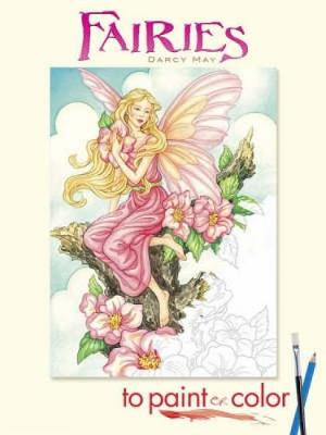 Fairies to Paint or Color - Dover Art Coloring Book (Paperback)
