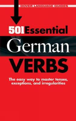 501 Essential German Verbs - Dover Language Guides German (Paperback)