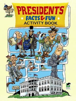Presidents Facts and Fun Activity Book - Dover Children's Activity Books (Paperback)