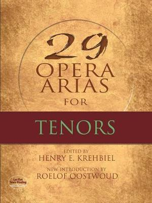 Twenty-Nine Opera Arias for Tenor (Paperback)