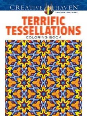 Creative Haven Terrific Tessellations Coloring Book - Creative Haven Coloring Books (Paperback)