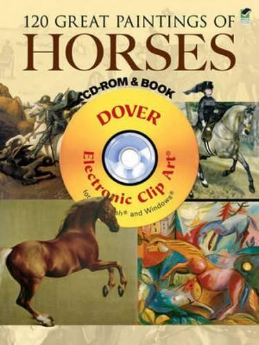 120 Great Paintings of Horses - Dover Electronic Clip Art (Mixed media product)