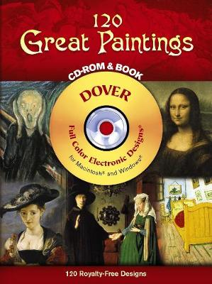 120 Great Paintings - Dover Electronic Clip Art (Mixed media product)