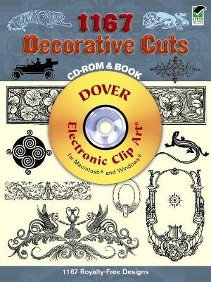 1167 Decorative Cuts - Dover Electronic Clip Art (Mixed media product)