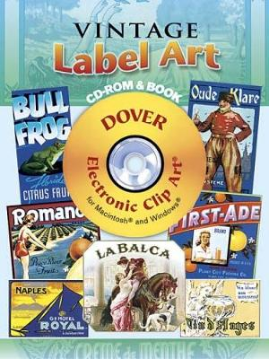 Vintage Label Art - Dover Electronic Clip Art (Mixed media product)