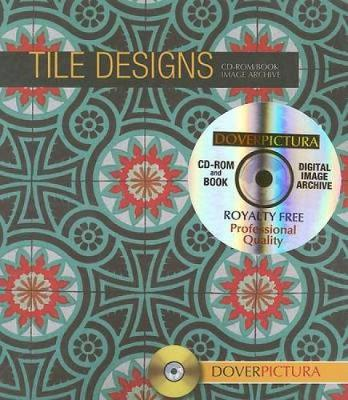 Tile Designs - Dover Pictura Electronic Clip Art (Mixed media product)
