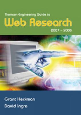 Thomson Engineering Guide to Web Research 2007-2008 (Paperback)