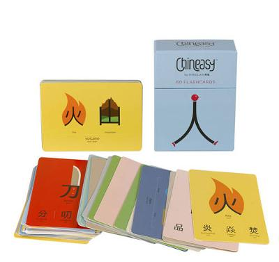 Chineasy: 60 Flashcards (Postcard book or pack)