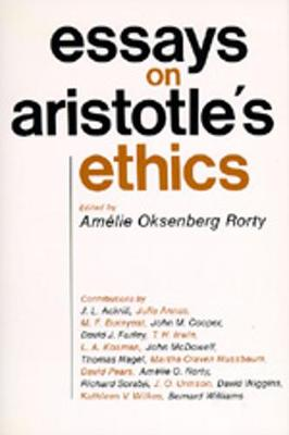 "Essays on Aristotle's ""Ethics"" - Philosophical Traditions S. (Paperback)"