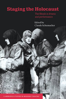 Staging the Holocaust: The Shoah in Drama and Performance - Cambridge Studies in Modern Theatre (Paperback)