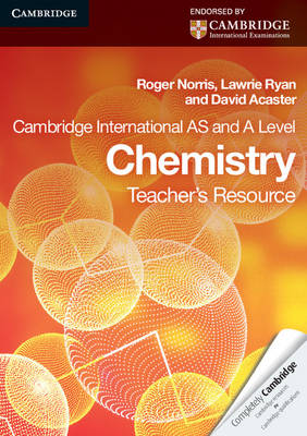 Cambridge International AS Level and A Level Chemistry Teacher's Resource CD-ROM - Cambridge International Examinations (CD-ROM)