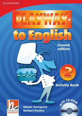 Playway to English Level 2 Activity Book with CD-ROM: Level 2 (Mixed media product)