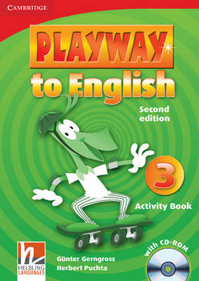 Playway to English Level 3 Activity Book with CD-ROM: Level 3 (Mixed media product)