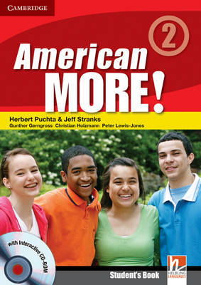 American More! Level 2 Student's Book with CD-ROM (Mixed media product)