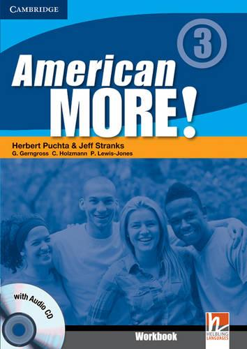 American More! Level 3 Workbook with Audio CD (Mixed media product)