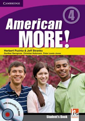 American More! Level 4 Student's Book with CD-ROM (Mixed media product)