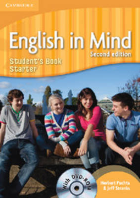 English in Mind Starter Level Student's Book with DVD-ROM (Mixed media product)