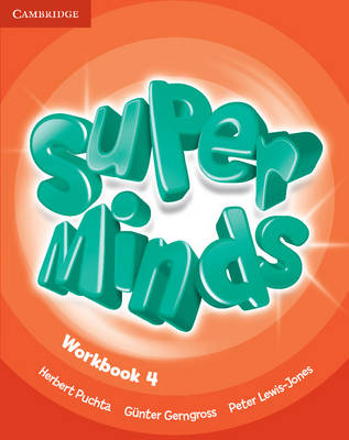 Super Minds Level 4 Workbook (Paperback)